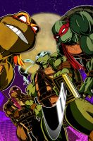 TMNT by BullyEater