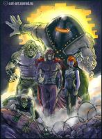Brotherhood of mutants by x-catman