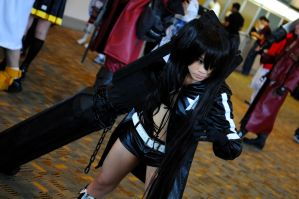 Otakon 2011 Black Rock Shooter by DarkGyraen