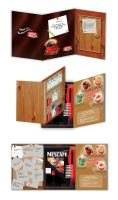 Pop up leaflet nescafe by ruthnella