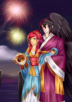 Collab- Hanfu event by Little-Noko