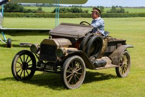 1913 Ford model T Pick-Up Truck by Daniel-Wales-Images