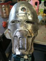 Mask, Polished and made some use of wear. by FinnishBlackSmith