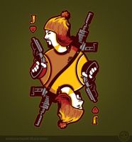 Jayne of Hearts - sunday on teefury by Winter-artwork