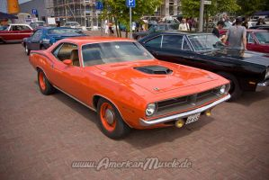 70 Cuda Muscle Car by AmericanMuscle
