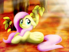 Autumn Fluttershy by NicoleTheHedgehogXD