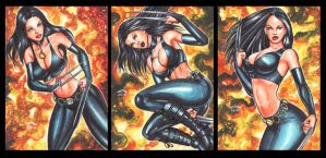 X23 PERSONAL SKETCH CARDS by AHochrein2010