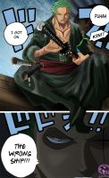 One piece 599 : zoro by Lord-Nadjib