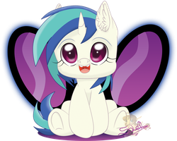 My Little Vinyl Scratch by UniSoLeiL