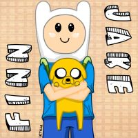 Finn and Jake by Cooky-2012