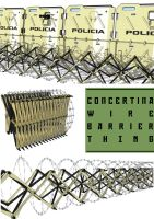 concertina wire barrier thing by flaketom