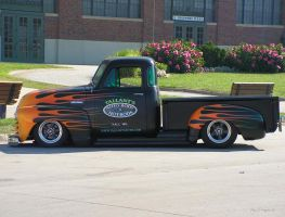 Sweet Flamed Hauler by colts4us