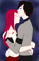 Lucifer and Meera .:Collab:. by ironwitch
