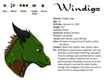 Windigo Bio Sheet by NexisSakura
