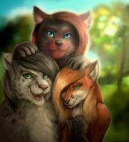 Group photo by SnowwyLeopard