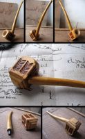 Thorin Oakenshield's pipe replica, functional by HouseOfLostPlay