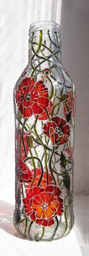 Poppy Vase by bellekaX