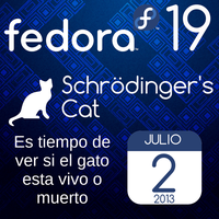 Fedora 19 para el 2 de Julio de 2013 by williamjmorenor