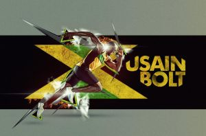 Usain Bolt by ultradialectics