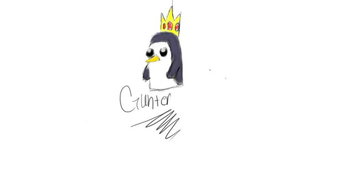 Gunter stole the crown by chibimellolover