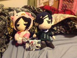 My collection of plushies is expanding by The-Insane-Puppeteer