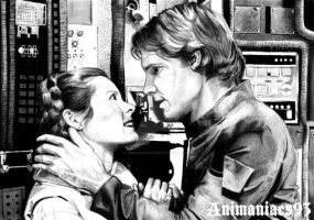 Han and Leia by Animaniacs93