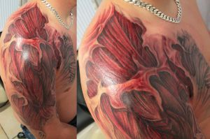 Muscle cover in progr. 4 by 2Face-Tattoo