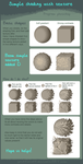 How to shade with Texture Tutorial by griffsnuff