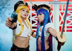 Freeze, it's police! by Hitomi-Cosplay
