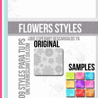 +Flowers Styles by OnlySparkscanFly