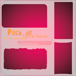Pack de Marcos -Shapes- by xxxypdesignxxx