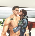Piers Nivans and Jill Valentine 2 by mk-re55