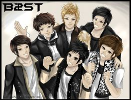 B2st Beast : Beautiful by KurosakiSasori-kun