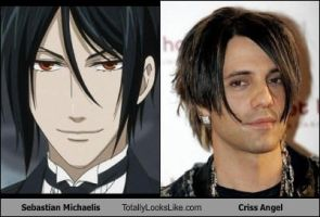 Sebastian totally looks like Criss Angel by CaliforniaHunt24