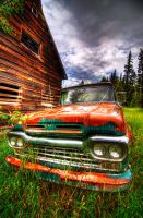 Rusty Old Ford by k-n-8