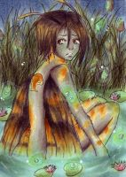 ACEO 89 Fireflypond by ChemicalIceTea