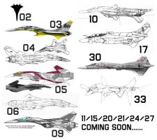 The FFRC Fleet Up To Now by fighterman35