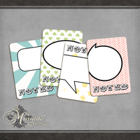 Its Noted Journal Cards by DaydreamersDesigns