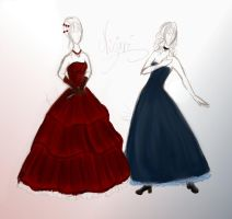 Nijari - dresses no. 1 by Nimuliaren