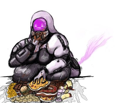 [Weight Gain, Slob] Mass Effect by SICstories