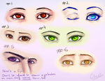 Eyes and Emotion: Reference by SweetJustABit