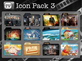 TV Icon Pack 3 by thewholehorizon