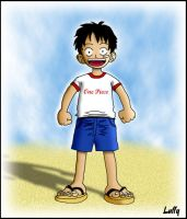 One Piece: Young Luffy by ShearerM4