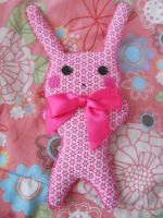 Pink Bunny by milacek