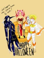Naruto Halloween by LadyProphet