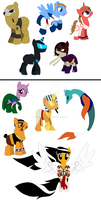 Sentinels of the Ponyverse (contest entry) by votederpycausemufins