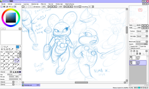 WENDY O KOOPA SKETCHES by Rage28