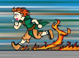 Flame Runner 2 by Iciclefobbit