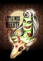 Little Miss Muerte by tainted-orchid