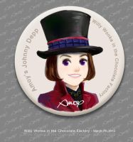 Willy Wonka Pin by amoykid